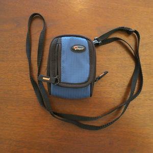 Blue Black Lowepro Camera Case Like New